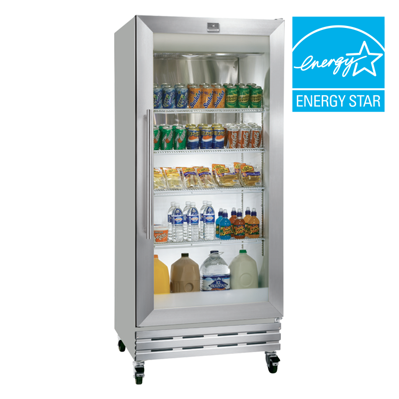 18 Cuft Glass Door Commercial Refrigerator Husky Appliances 2011